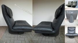 Jaren 70 lounge chairs van T. Ammanati en GP Vitelli voor Comfort Italia