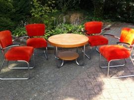 Jaren 50 Gispen stoelen / Gispen chairs mid-century
