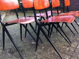 Industrial retro Marko chairs jaren 70 vintage