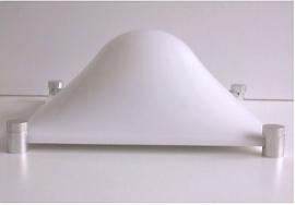 Retro design Elio Martinelli Bolla wall/ceiling lamo