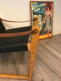 Vintage design Bengt Ruda safari chair Cikada Sweden