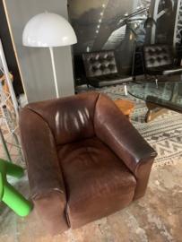 Vintage design de Sede DS 47 leren fauteuil