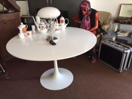 Vintage design Maurice Burke Arkana tulip table