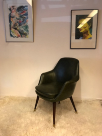 Jaren 50 vintage design executive chair