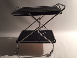 Vintage design Belgium tea trolley