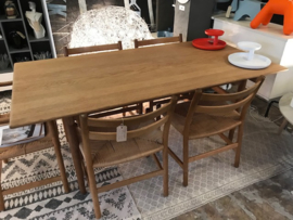 Rare 1st edition Hans Wegner (working) table by Andreas Tucker