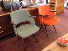 Vintage design Cees Braakman FE30 chair(s) for Pastoe 1950