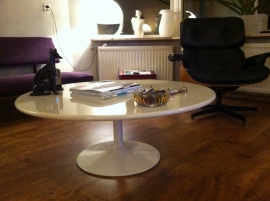 Vintage Pierre Paulin coffee table for Artifort