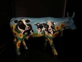 """Design Cow Parade cow """"Cow Barn"""""""