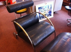 COR Zyklus lounge chair plus ottoman Peter Maly