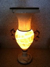 Grote marmeren Urn vaas antiek / Antique marble  Urn vase