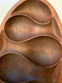 Prachtige vintage design jaren 60 Laur Jensen vase Denmark