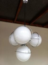 Jaren 60 Sputnik lamp / 60`s sputnik lamp