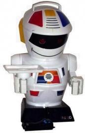 Jaren 80 Emiglio robot met afstandsbediening/80`s Emiglio robot with remote control SOLD