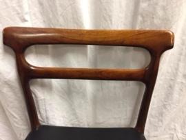 Scandinavian (Danish) rosewood dining chairs 4x