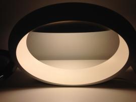 Vintage Italian Gloria Ellipsis table lamp