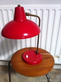 Panama-achtig bureaulampje jaren 50 / Panama like table lamp 1950