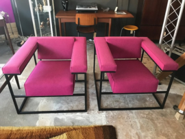 Roderick Vos Metropolis lounge chairs for Spectrum