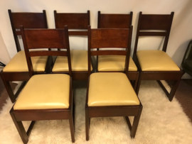Vintage 1920/1930 Frits Spanjaard chairs for L.O.V. Oosterbeek