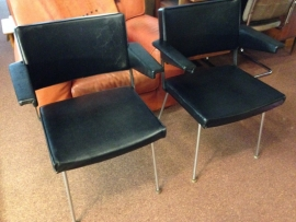 Retro design Industrial Gispen 1268 Cordemeijer chairs