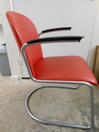 Jaren 60 retro Gispen 413 fauteuil/ Vintage 60`s Gispen 413 chair
