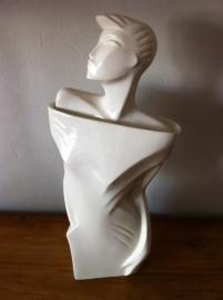 Lindsey B. Ceramic Mannequin Bust 1983 signed