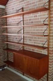 Poul Cadovius Royal System wall unit for Cado