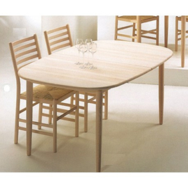 Danish Haslev 899 dining table 800 series