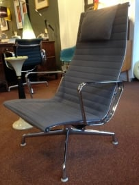 Eames EA124 lounge chair Herman Miller