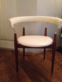 Rare Jan Lunden Knudsen Rondo chairs Norway 1960