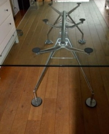 Design Tecno Nomos dining table/desk designed by sir Norman Foster