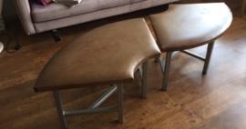 Prachtige unieke de Sede bankjes/tafels, de Sede benches unique