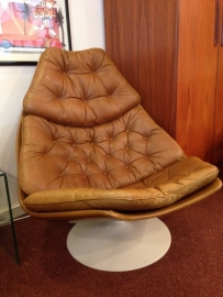 Vintage Geoffrey Harcourt F590 lounge chair for Artifort