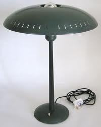 Louis Kalff tafellamp voor Philips 1950 / 1950 Louis Kalff table light for Philips