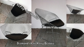 Harry Bertoia Diamond chair voor Knoll