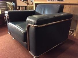 Prachtige leren lounge chairs 2x