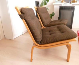 Vintage design Karl Erik Ekselius lounge chairs Sweden