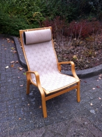 Vintage Bruno Mathsson fauteuil /  Vintage Bruno Mathsson chair