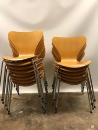 Originele vintage design Arne Jacobsen Butterfly chairs Fritz Hansen