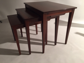 Vintage design Rosewood Scandinavian Nesting tables