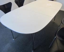 Arne Jacobsen, Piet Hein, Bruno Mathsson design dining table by Fritz Hansen