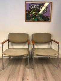 vintage design Gijs van der Sluis fauteuils