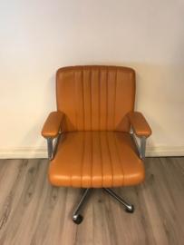 Vintage Tecno Osvaldo Borsani P128 desk chairs Italy
