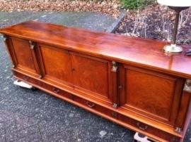 Vintage jaren 50/60 Mahonie dressoir / Vintage 1950/60 sideboard mahogany