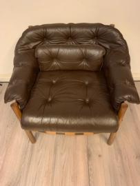 Vintage design mid century Arne Norell Coja lounge chair