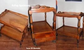 Fraaie jaren 60 theetafel, 1960 tea table