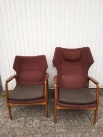 Vintage design Bovenkamp fauteuils Aksel Bender Madson