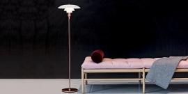 PH floorlamp Louis Poulsen Copper limited edition