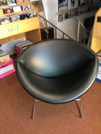 Pierre Paulin (Artifort) and Rohe Noordwolde retro design lounge chair