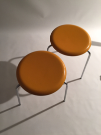 Arne Jacobsen Dot Stool black or yellow  for Fritz Hansen